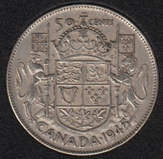 1945 - Canada 50 Cents