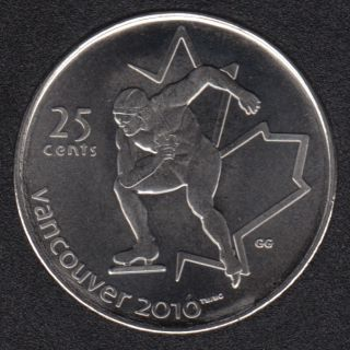 2009 - #1 NBU - Patinage de Vitesse - Canada 25 Cents