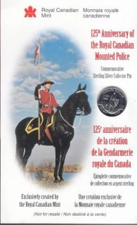 1998 RCMP Sterling Silver Pin