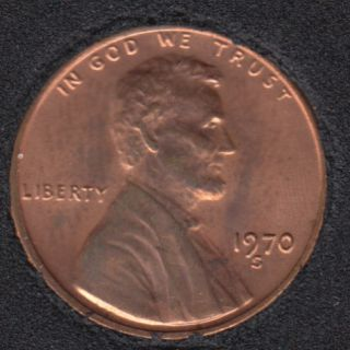 1970 S - B.Unc - Large Date - Lincoln Small Cent