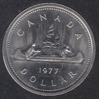 1977 - #3 B.unc - Det, Jew. SWL. - Nickel - Canada Dollar