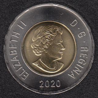 2020 - B.Unc - Canada 2 Dollars