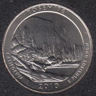 2010 D - Yosemite - 25 Cents