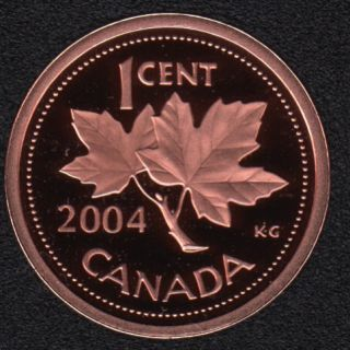 2004 - Proof - Canada Cent