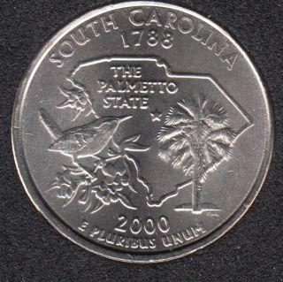 2000 P - South Carolina - 25 Cents