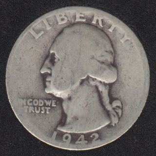 1942 - Washington - 25 Cents
