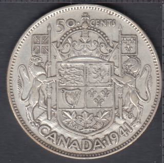 1941 - Canada 50 Cents
