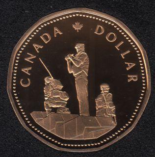 1995 - Proof - Gardiens de la Paix - Canada Dollar