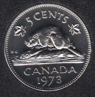1973 - Proof Like - Canada 5 Cents