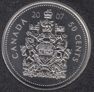 2007 - Specimen - Canada 50 Cents
