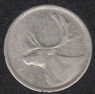1956 - Canada 25 Cents