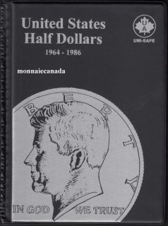 US Coins Album 50 Cents - 1964-1986