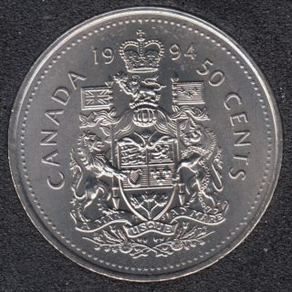 1994 - B.Unc - Canada 50 Cents