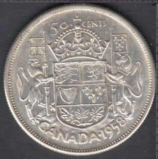 1958 - Canada 50 Cents