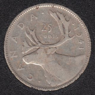 1941 - Canada 25 Cents
