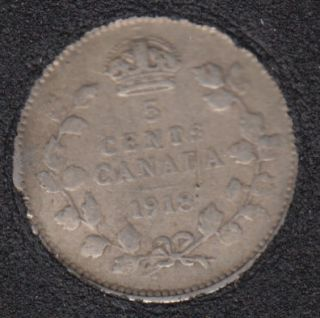 1918 - Canada 5 Cents