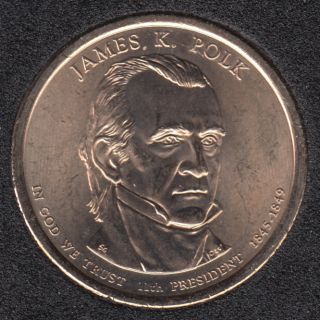 2009 D - J.K. Polk - 1$