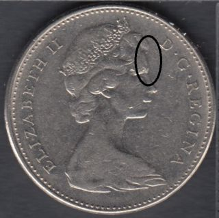 1969 - Double Head - Canada 5 Cents