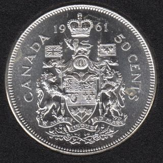 1961 - B.Unc - Canada 50 Cents