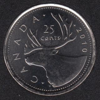 2010 - B.Unc - Canada 25 Cents