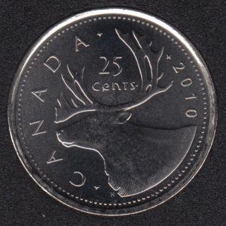 2010 - B.Unc - Canada 25 Cents