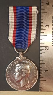 #1-240 Royal Fleet Reserve Long Service and Good Conduct Medal George VI