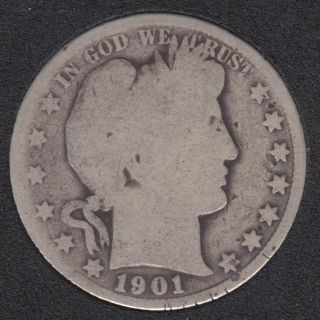 1901 - Barber - 50 Cents