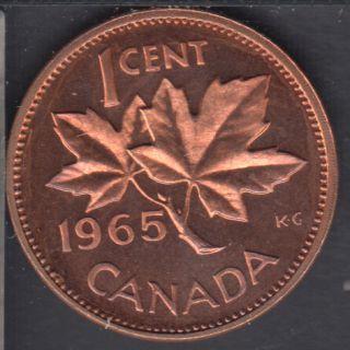 1965 - #2 Proof Like - SBB5 - Cameo - Canada Cent