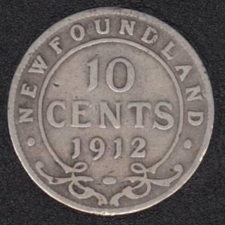 Newfoundland - 1912 - 10 Cents