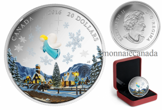 2016 - $20 - 1 oz. Fine Silver Coin – Venetian Glass Angel