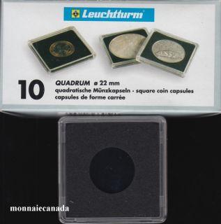 Capsules QUADRUM 22 MM