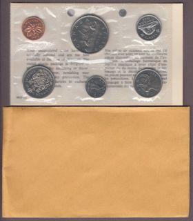 1968 - No Island , Double 'D G REG' Dollar - BRILLIANT UNCIRCULATED SET