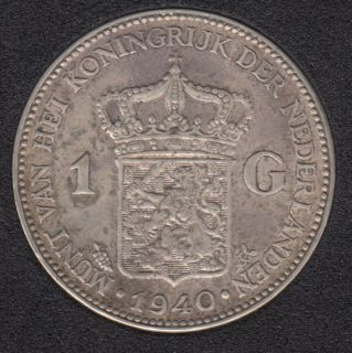 1940 - 1 Gulden - Netherlands