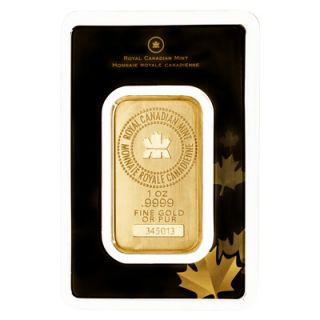 1 oz Royal Canadian Mint Gold Wafer Bar * PHONE ONLY *