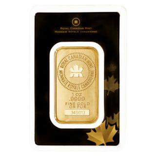 1 oz Lingot d'Or Fin Monnaie Royale Canadieenne * TÉLÉPHONE SEULEMENT *