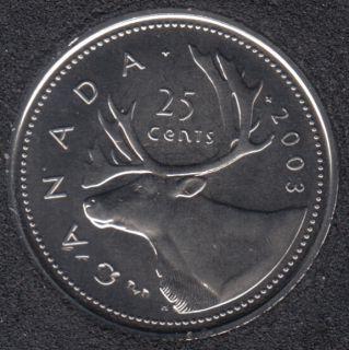 2003 WP - NBU - NE - Canada 25 Cents